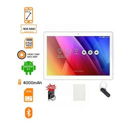 Discover Note 5 Plus 64GB 4GB 10.1 Tablet Gold + Free Bluetooth Headset & Flip Cover
