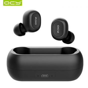 QCY TWS 5.0 Bluetooth Earphone and Charging Box