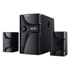 Asano Bluetooth 2.1 Channel Sub Woofer System With Remote Control - TK 522- Black